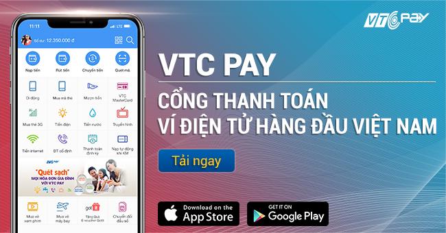Ví điện tử - Cổng thanh toán trực tuyến VTC Pay | VTC Pay