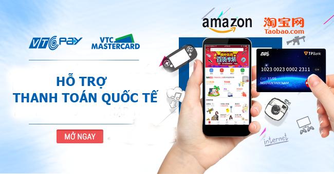 VTC MasterCard có thể thanh toán trên tất cả các trang bán hàng trực tuyến có hỗ trợ thẻ MasterCard trong và ngoài nước