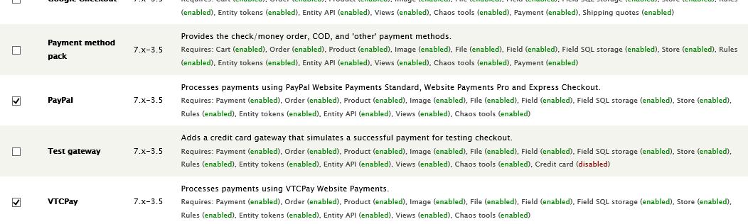 Ví điện tử - Cổng thanh toán trực tuyến VTC Pay