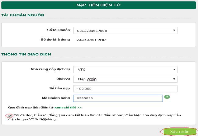 Nếu có tài khoản ngân hàng LienVietPostBank - Nạp Vcoin qua Ví Việt Bằng  tài khoản Ví Việt, bạn có thể Nạp trực tiếp hoặc Mua thẻ Vcoin tại website  ...