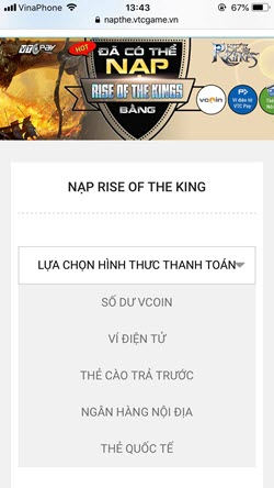 nap game Rise of the Kings