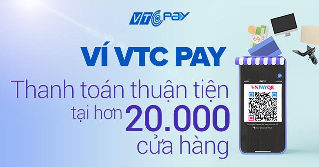 VTC Pay quét mã VNPAY-QR