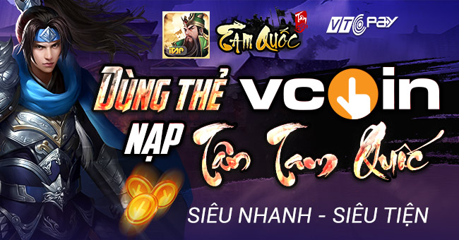 vcoin nạp game