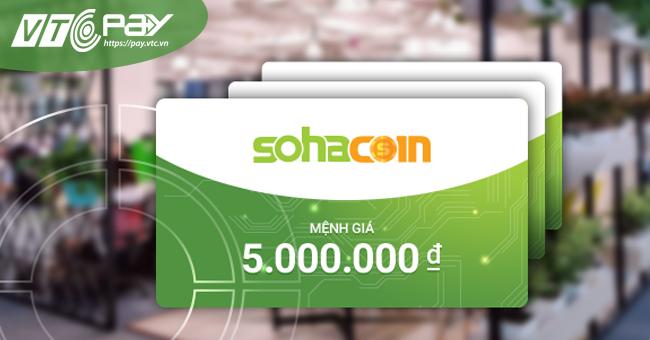 Bạn có thể mua mã thẻ SohaCoin một cách nhanh chóng, an toàn trên website  https://365.vtcpay.vn ...
