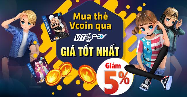 Nhờ hình thức Nạp/Mua mã thẻ Vcoin online qua Ví điện tử VTC Pay tại  website https://365.vtcpay.vn/ và ứng dụng mobile VTC Pay, các Game thủ  thậm chí không ...