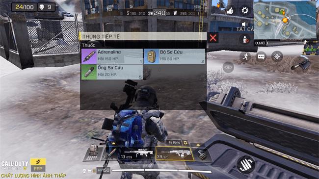Vật phẩm hồi máu trong Call of Duty Mobile