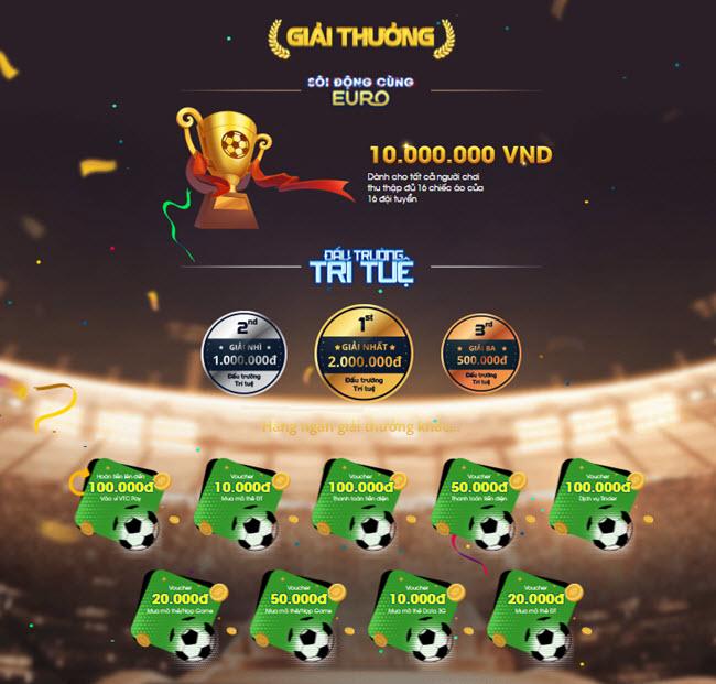 Giải thưởng Euro VTC Pay