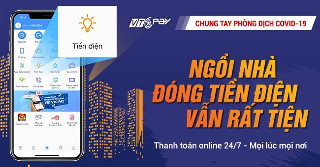 Hướng dẫn thanh toán tiền điện online dễ dàng qua ví VTC Pay