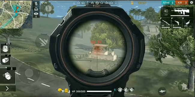 Nạp card Free Fire gameplay