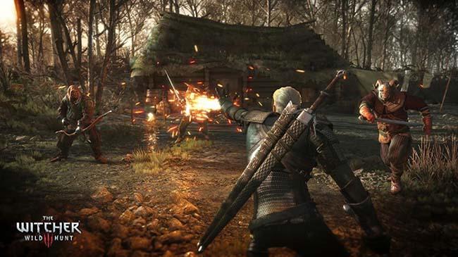 the witcher 3: mua game giảm giá mạnh nhất trên steam